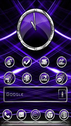CrystalX HD Multi Theme Purple