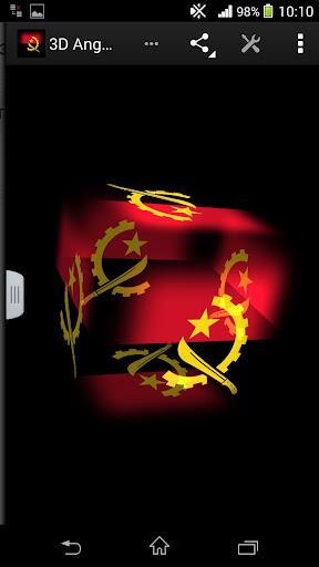 3D Angola Live Wallpaper