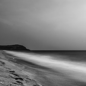 every time colours not need..! by Milind Shirsat - Black & White Landscapes ( water, sand, mountain, sea, beach )