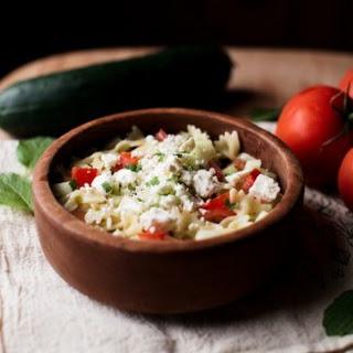 Summery Greek Pasta Salad