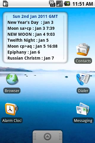 Pagan Calendar Pro- screenshot
