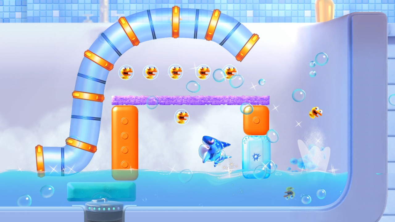 Shark Dash Free - screenshot