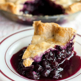 Blueberry Pie.