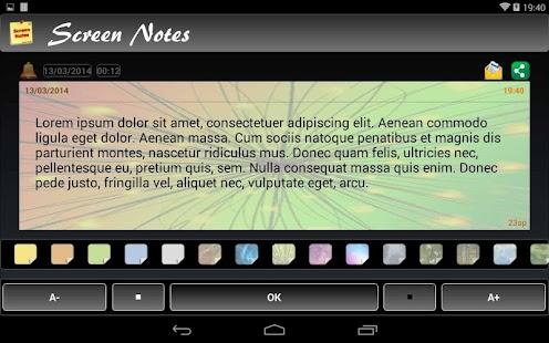 Screen Notes Trial - screenshot thumbnail