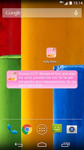 Holy Bible Woman JDS