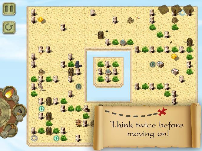 Rick Run : Find the treasure - screenshot