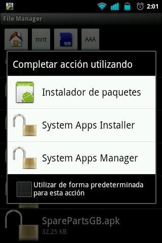System Apps Installer [ROOT]- screenshot