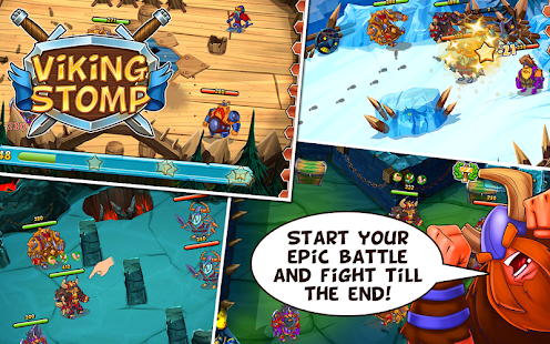 Viking Stomp v2.1.66 Mod Unlimited Gold and Mushrooms Android-P2P