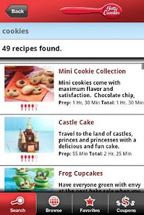 Betty Crocker® Mobile Cookbook - screenshot thumbnail