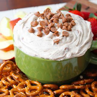 Cinnamon Chip Cheesecake Dip