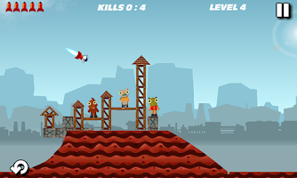 Screenshot of Flappy Rocket