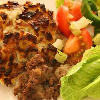 Slow-Cooked Potatoes & Hamburger.