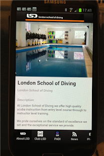 London School of Diving- screenshot thumbnail