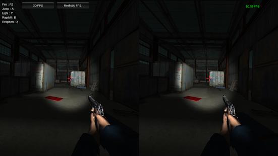 3D Virtual Reality FPS - Demo