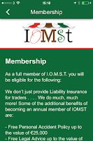 Screenshot of IOMST