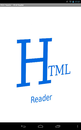Html Reader No Ads