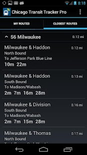 Chicago Transit Tracker Pro - screenshot thumbnail