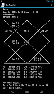 Quick Jyotish- screenshot thumbnail