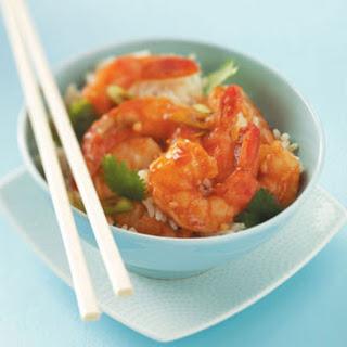 Ginger Shrimp Stir-Fry.