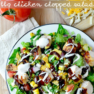 BBQ Chicken Chopped Salad.
