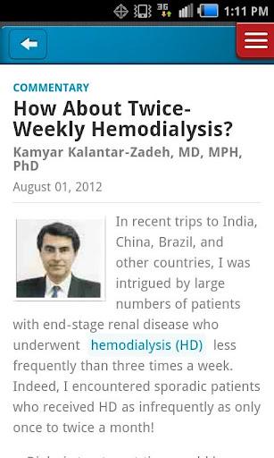Renal Urology News