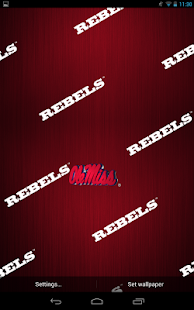 Ole Miss Rebels Live Wallpaper - screenshot thumbnail