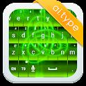 A.I.typeテーマギャラリー緑א icon