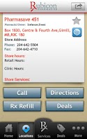 Screenshot of Rubicon Pharmacies