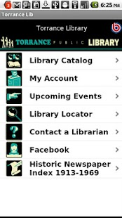 Torrance Library- screenshot thumbnail