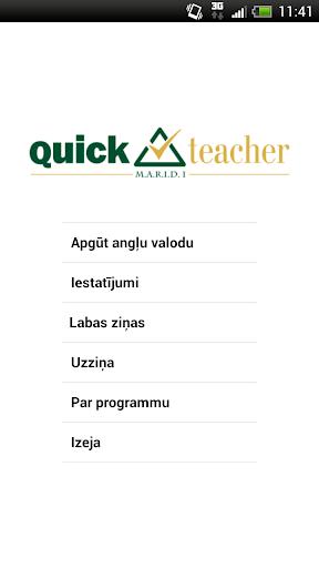 QuickTeacher Angļu valoda