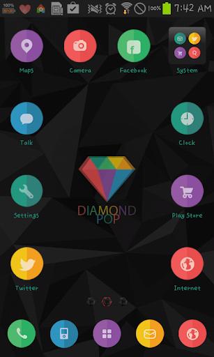 Diamond dodol launcher theme