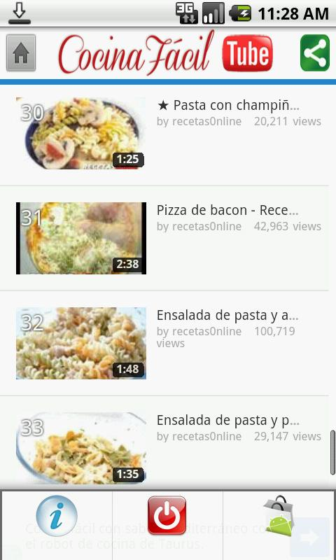 Easy Cooking Tube - screenshot