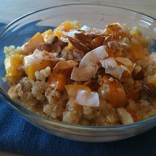 Almost Instant Breakfast Quinoa