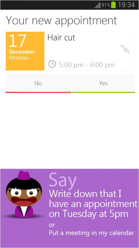 SHERPA BETA Personal Assistant - screenshot