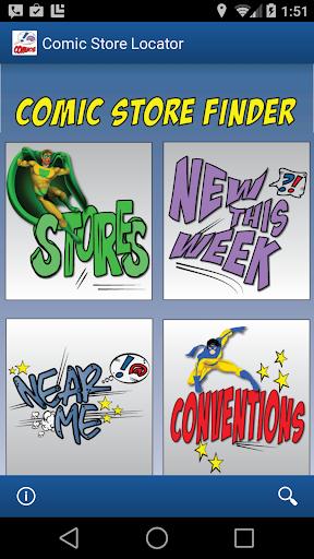 Comic Store Finder