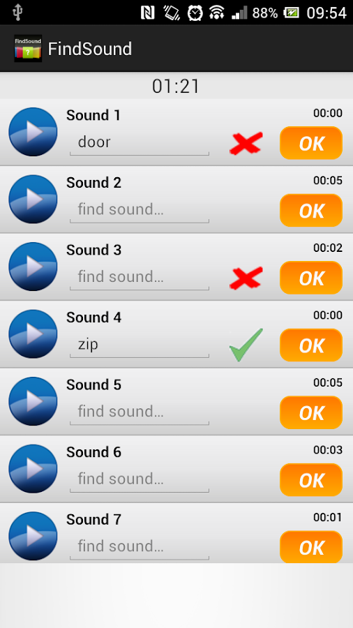 FindSound - Guess the Sound - screenshot