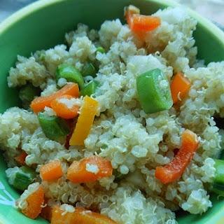 Splendid Blood Orange Olive Oil Quinoa Salad.