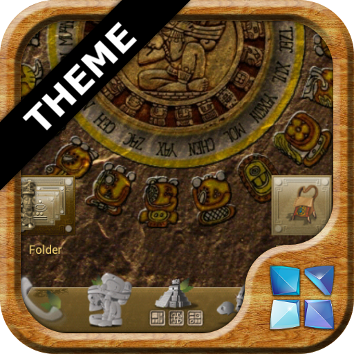 Next Launcher Mayan Theme