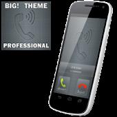 BIG! caller ID Theme Prof