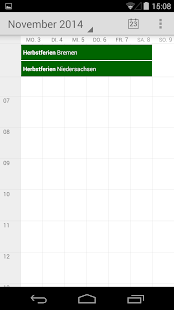 Ferienkalender- screenshot thumbnail