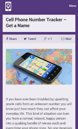 Mobile Number Tracker Tips 1.0 screenshot 9974