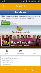 Rádio Tarobá 95.7- screenshot thumbnail