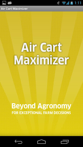 Air Cart Maximizer