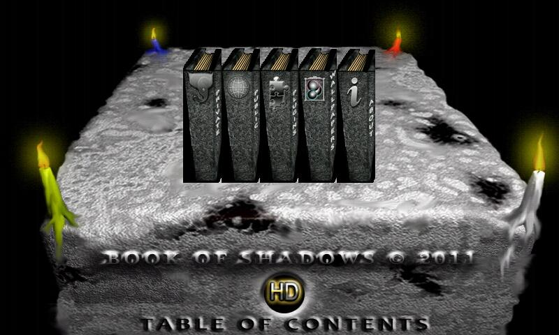Book of Shadows HD - screenshot
