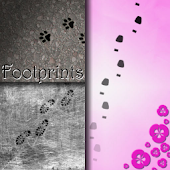 Footprints Live Wallpaper