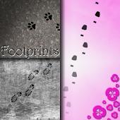 Footprints Live Wallpaper