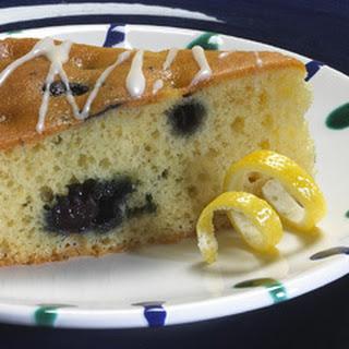 Glazed Lemon Blueberry Coffeecake.