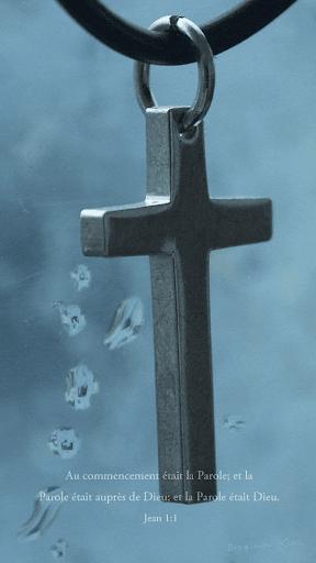 Jésus croix Évangile _French