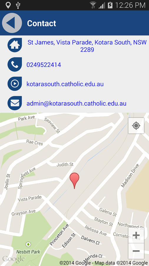 St James Kotara South- screenshot