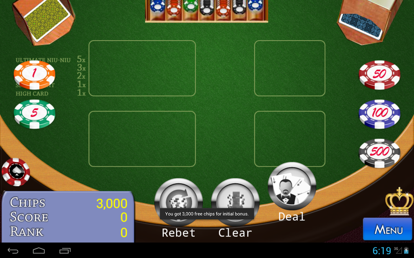 Niu-Niu Poker- screenshot
